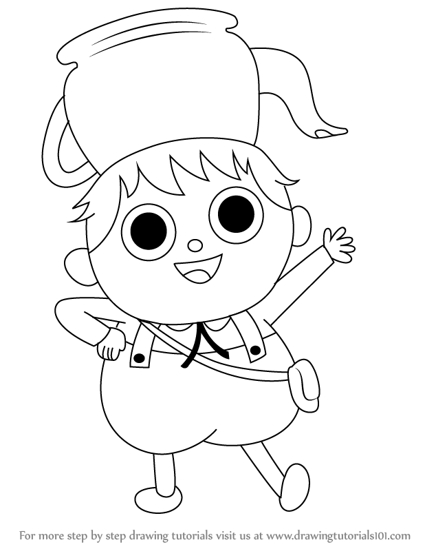 618x797 Learn How To Draw Greg From Over The Garden Wall (Over The Garden
