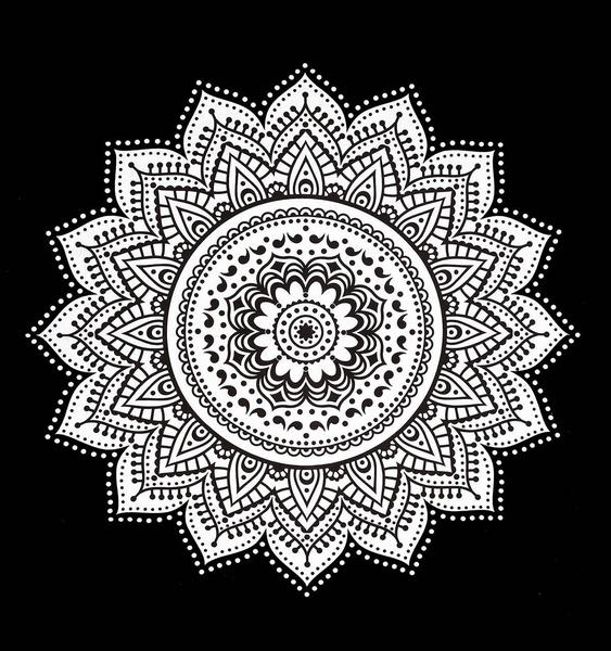 563x600 Black And White Tapestry Ombre Mandala Tapestry Wall Hanging Dorm Room