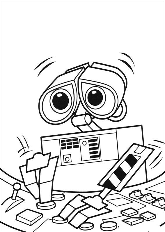 567x794 56 Best Disney Wall E Coloring Pages Disney Images
