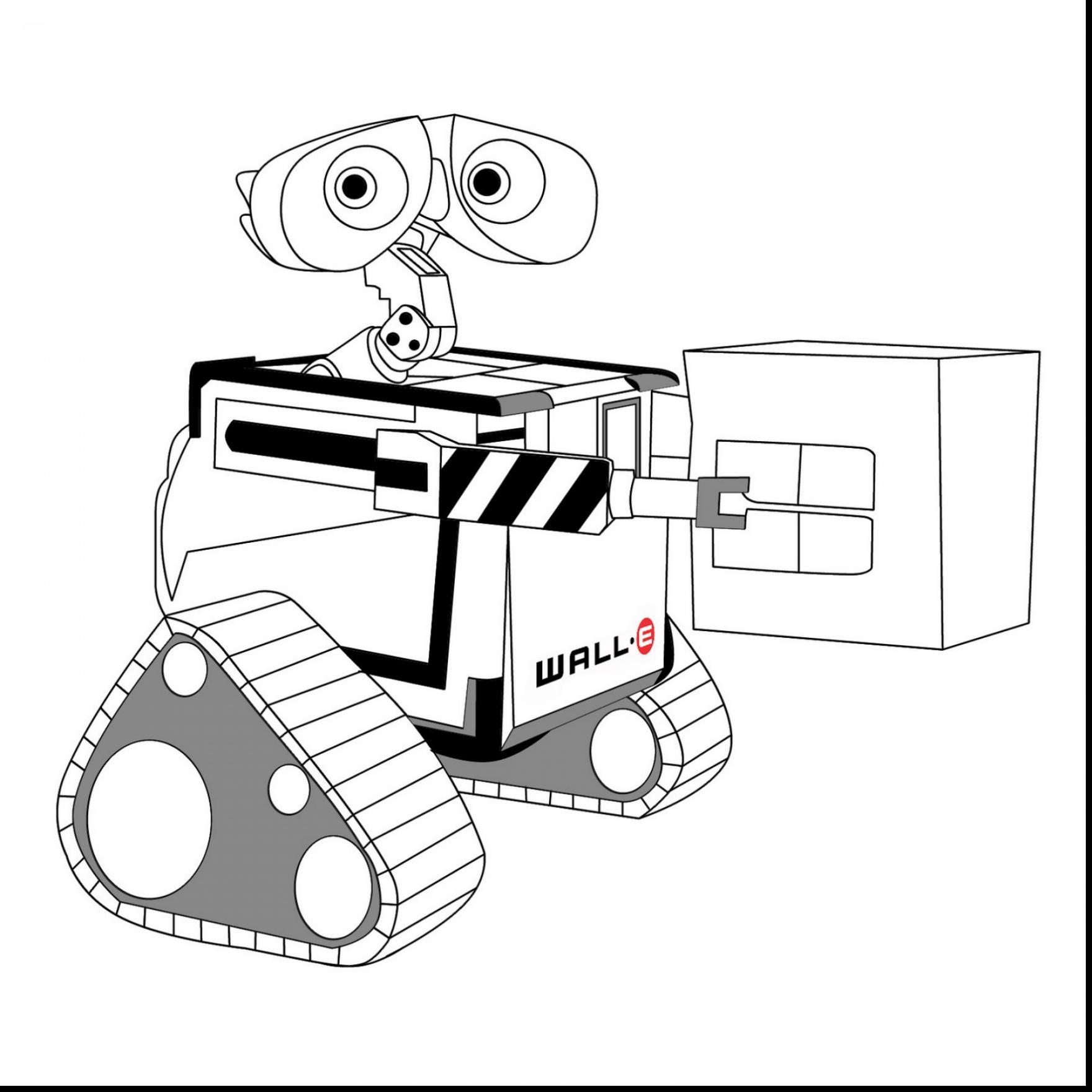 1760x1760 Awesome Walle And Plant Coloring Pages For Kids Colorngpagesco