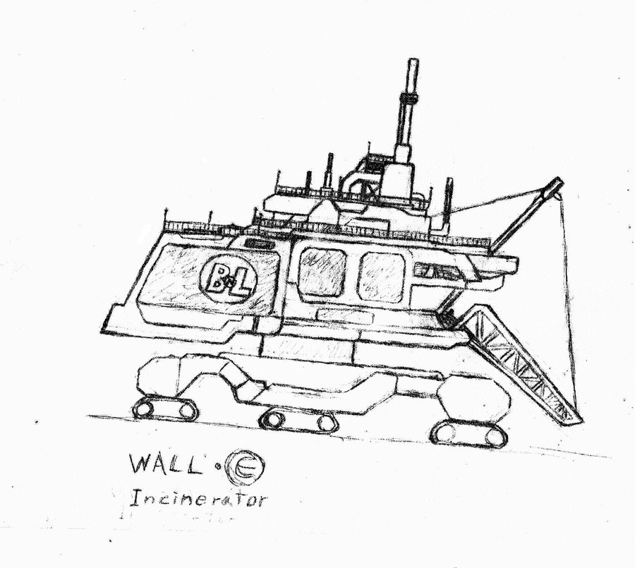 900x805 Incinerator From Wall E By Hybodus