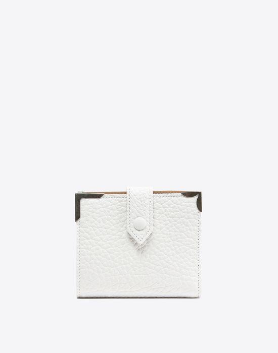 550x700 Maison Margiela Calfskin Wallet With Button Closure Women Online