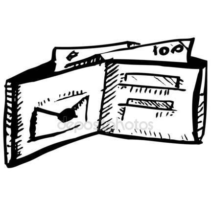 431x450 Money Hand Draw Sketch. Vector Stock Vector Bigmouse