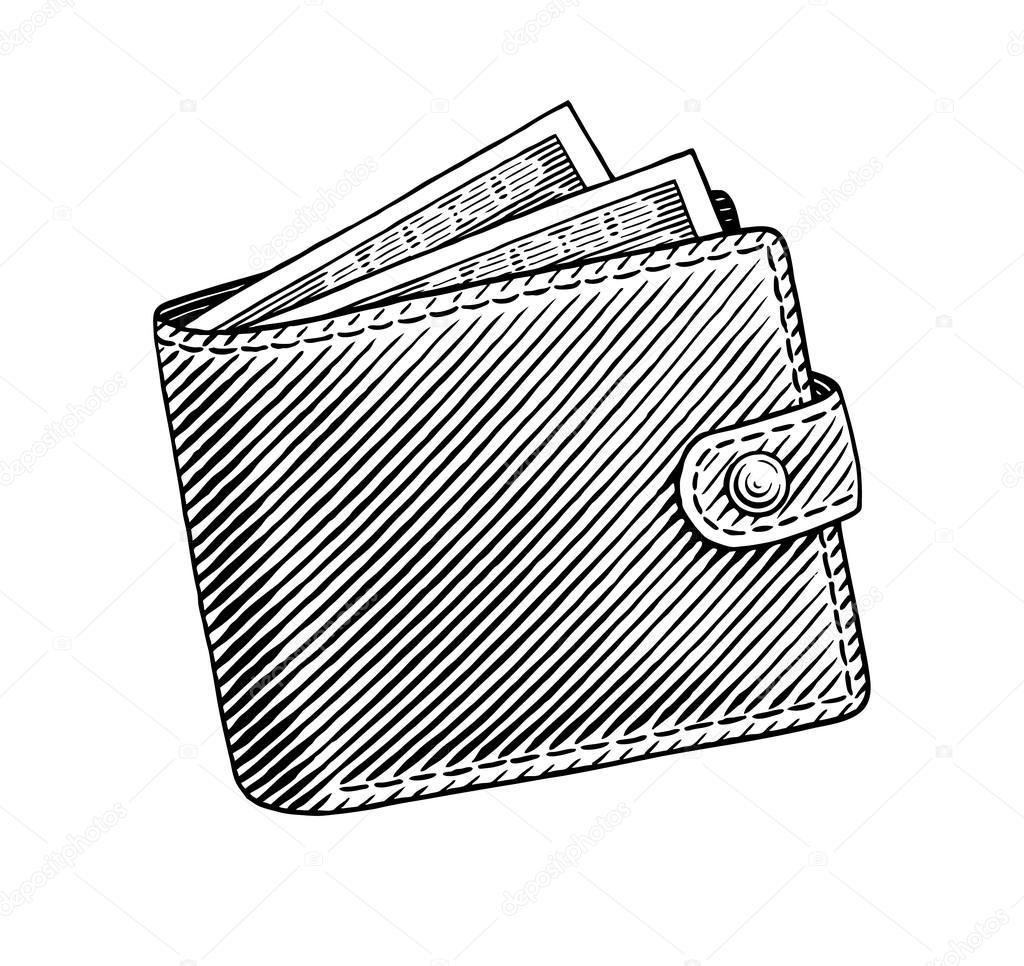1024x966 Wallet Stock Vector Nattle