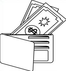 223x238 Free Wallet Clipart