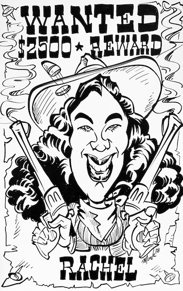 377x600 Custom Caricature Drawings In Denver, Co Mark Hall Caricature