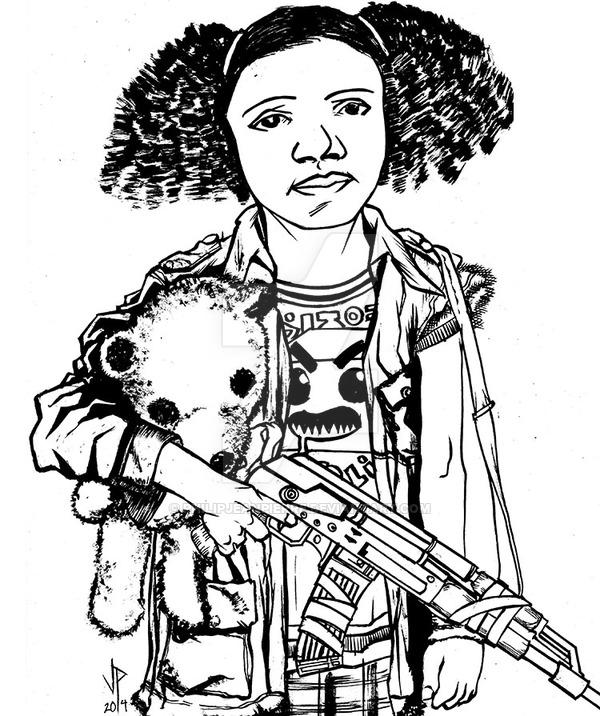 600x716 War Child Ink By Philipjeanpierre