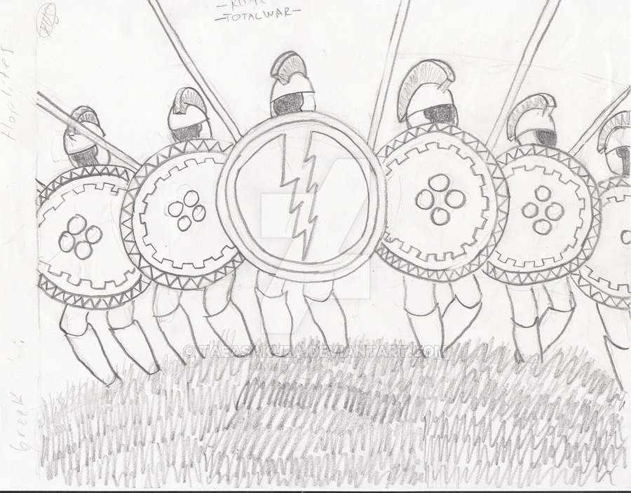 900x703 Rome Total War Greek Hoplites By Taeasakura