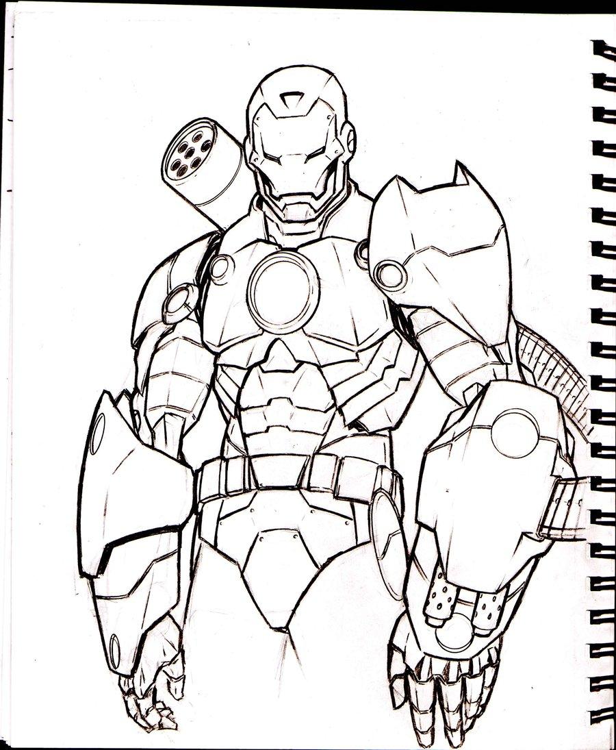 900x1095 War Machine Sketch By Acarabet