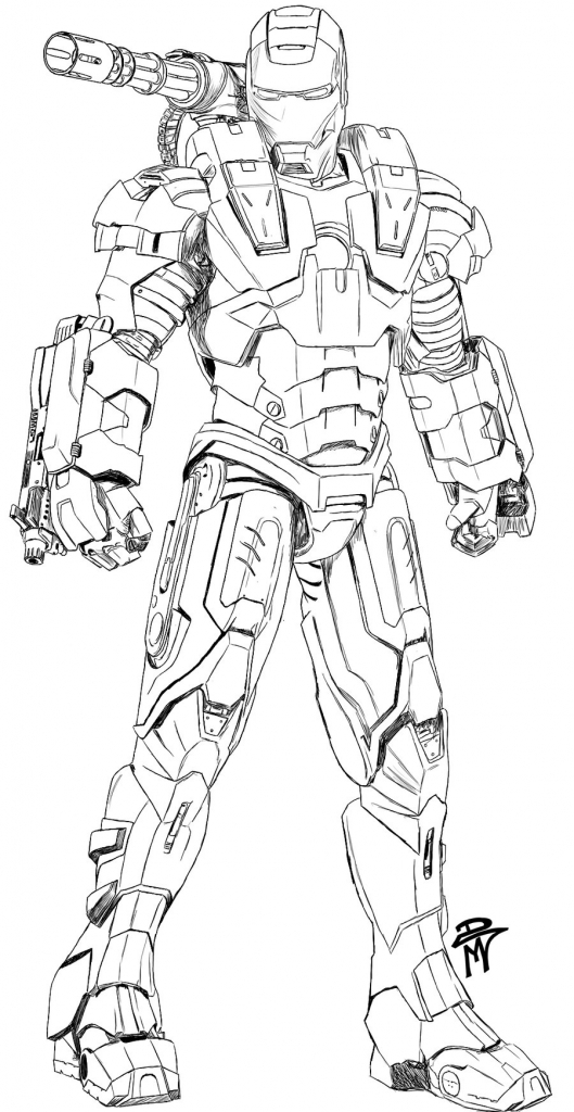 529x1024 Ideas Of Draw War Machine War Machine Coloring Pages Download