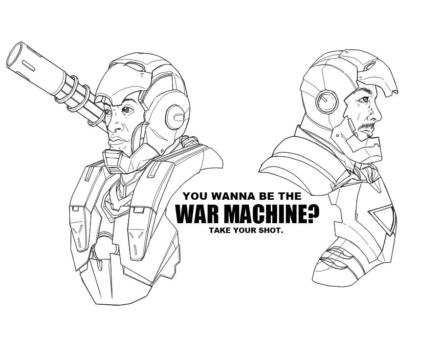 900x731 You Wanna Be The War Machine By B Dangerous