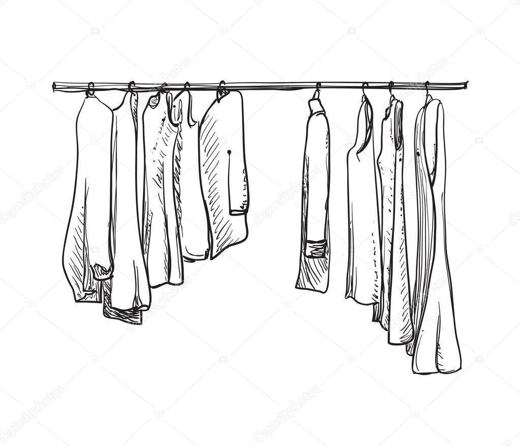 wardrobe drawing at getdrawings com