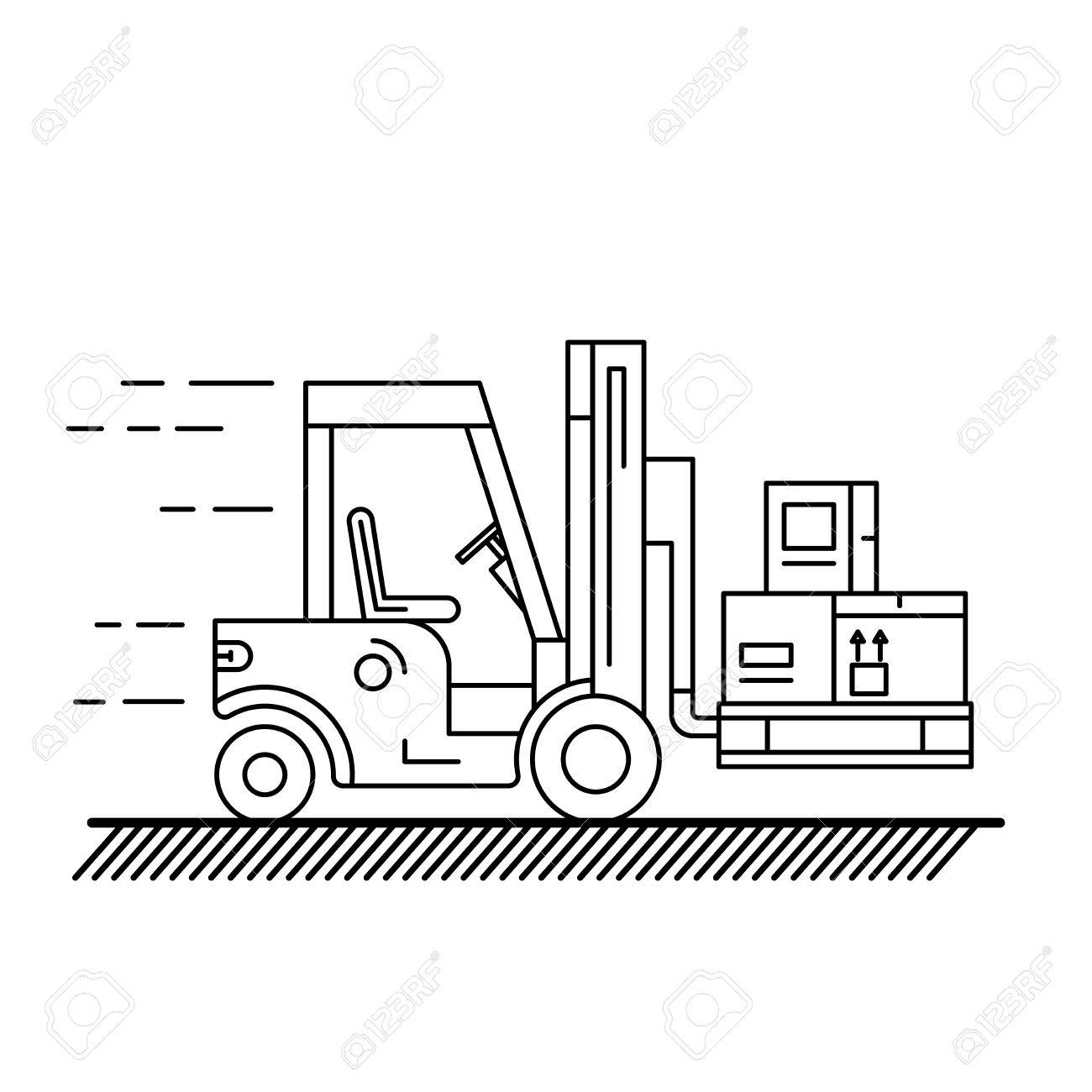 1300x1300 The Warehouse Work With Loading And Unloading Of Cargo. Warehouse
