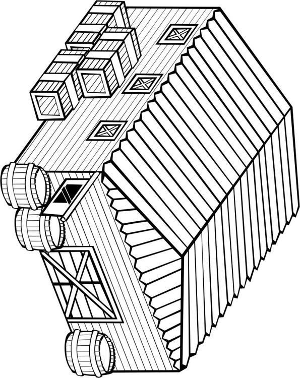595x750 Coloring Page Warehouse