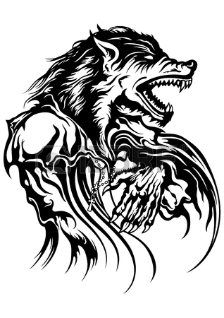 318x450 Werewolf Stock Photos. Royalty Free Business Images