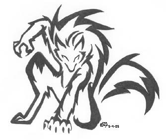 335x283 Werewolf Drawing I Like Werewolves, Drawings