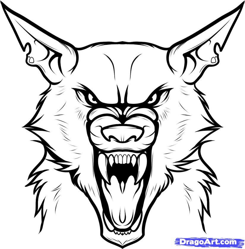 825x840 Werewolf Pictures To Draw