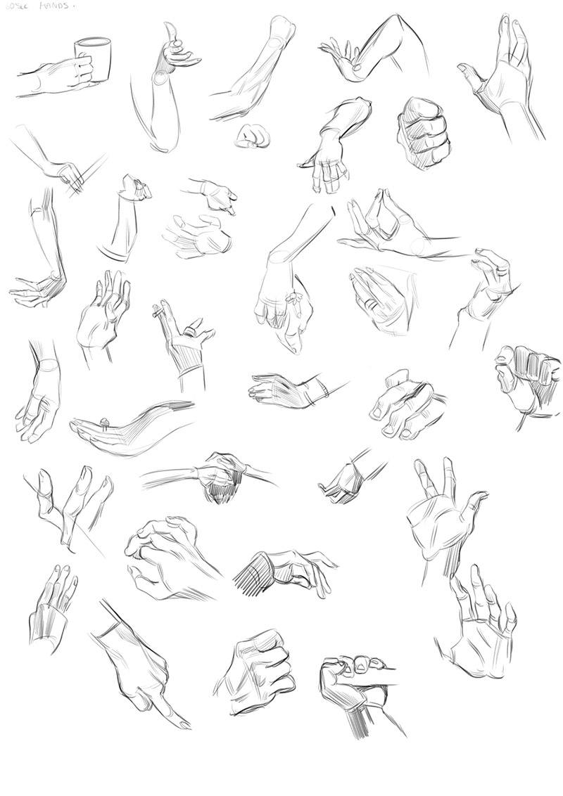 800x1132 Life Drawing Dublin Warm Ups 1 Minute Hand Gestures