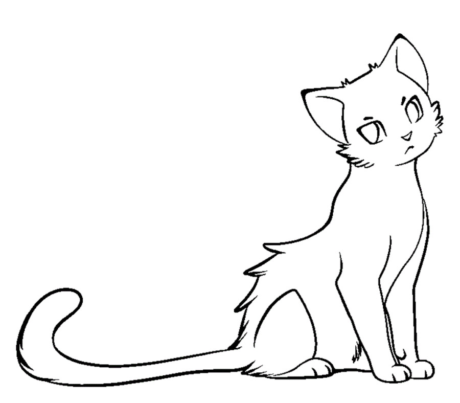 900x788 Best Warrior Cat Coloring Pages 26 About Remodel Print Coloring