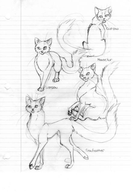 465x640 Warrior Cats 1 By Laz Kat