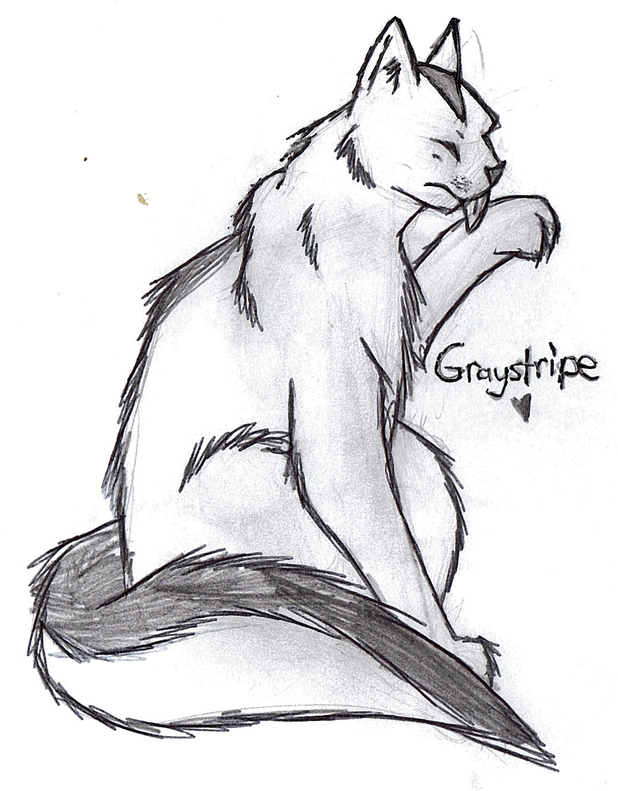 900x1153 Warrior Cats Graystripe By Patchfeather