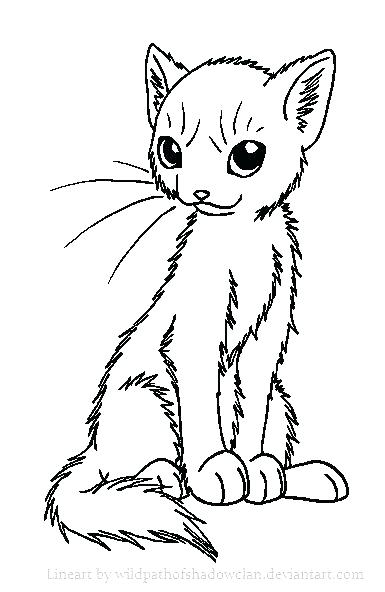 385x592 Minimalist Warrior Cats Coloring Pages Fee