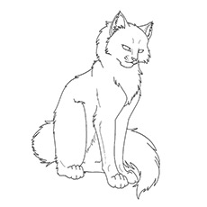 230x230 Top 25 Free Printable Warrior Cats Coloring Pages Online