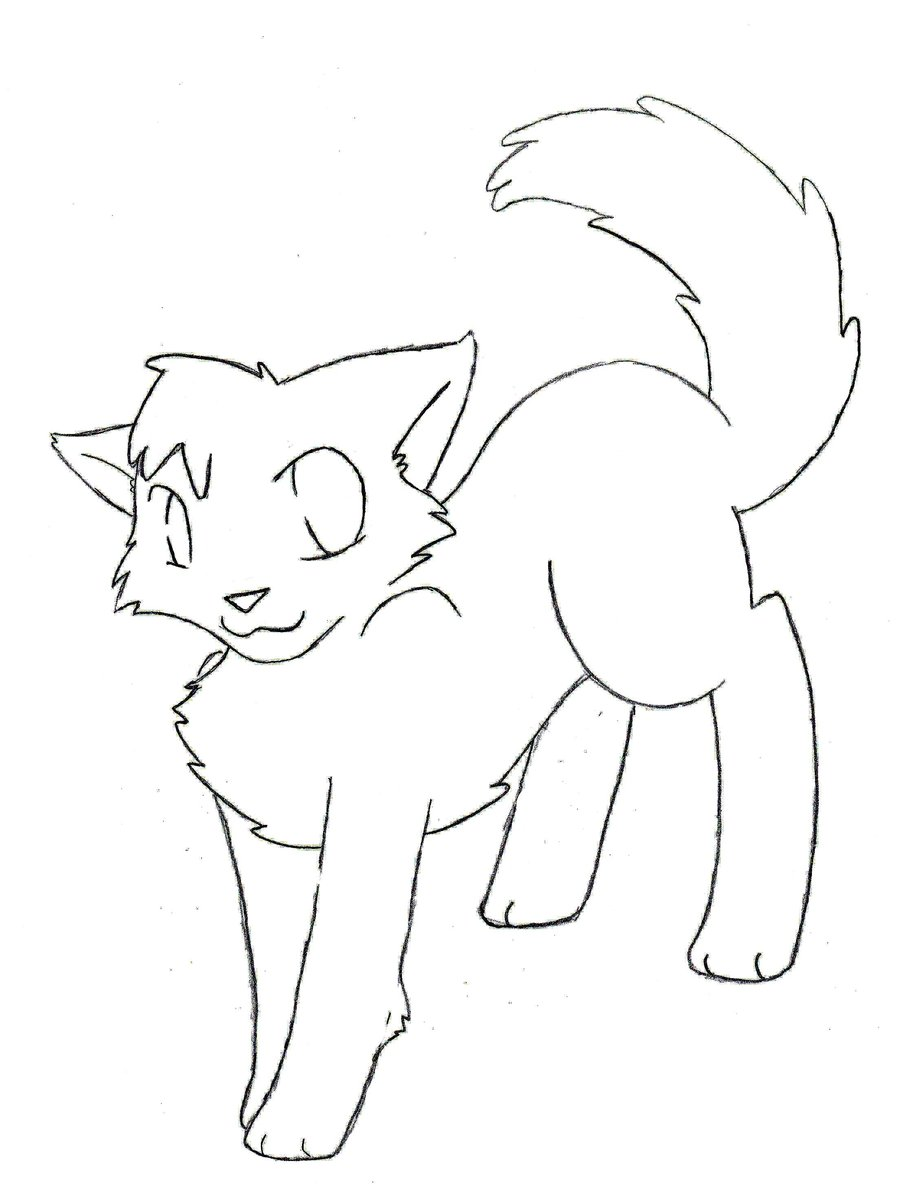 900x1190 Warrior Cats Coloring Pages
