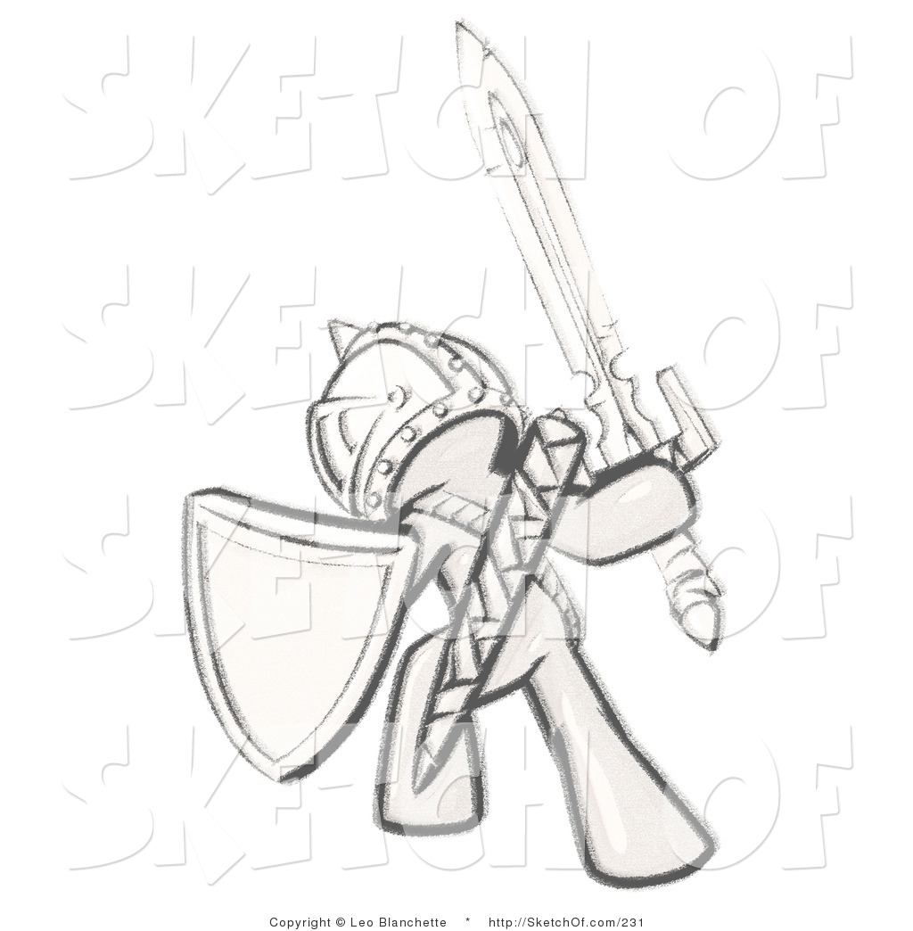 1024x1044 Drawing Of A Sketched Design Mascot Man Ultimate Warrior Heading