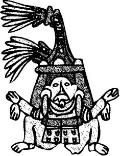 235x304 Aztec Warrior Drawings