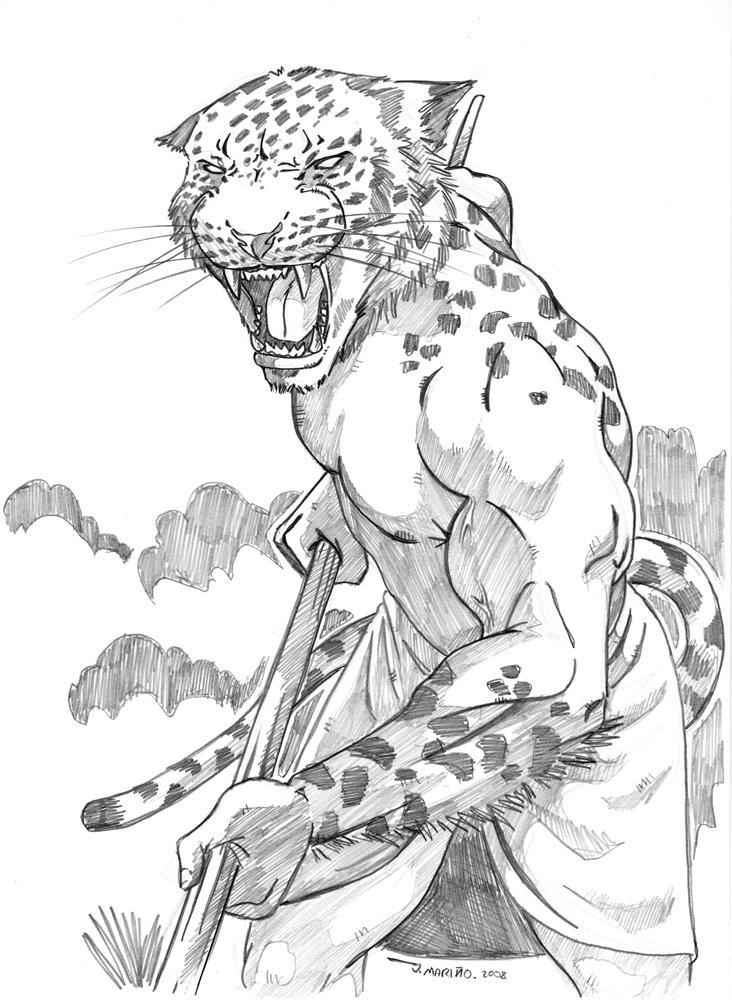 732x1000 Jaguar Warrior Concept By On @