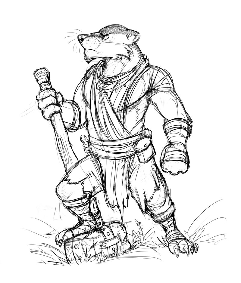 800x941 Badger Warrior By On @ Animal