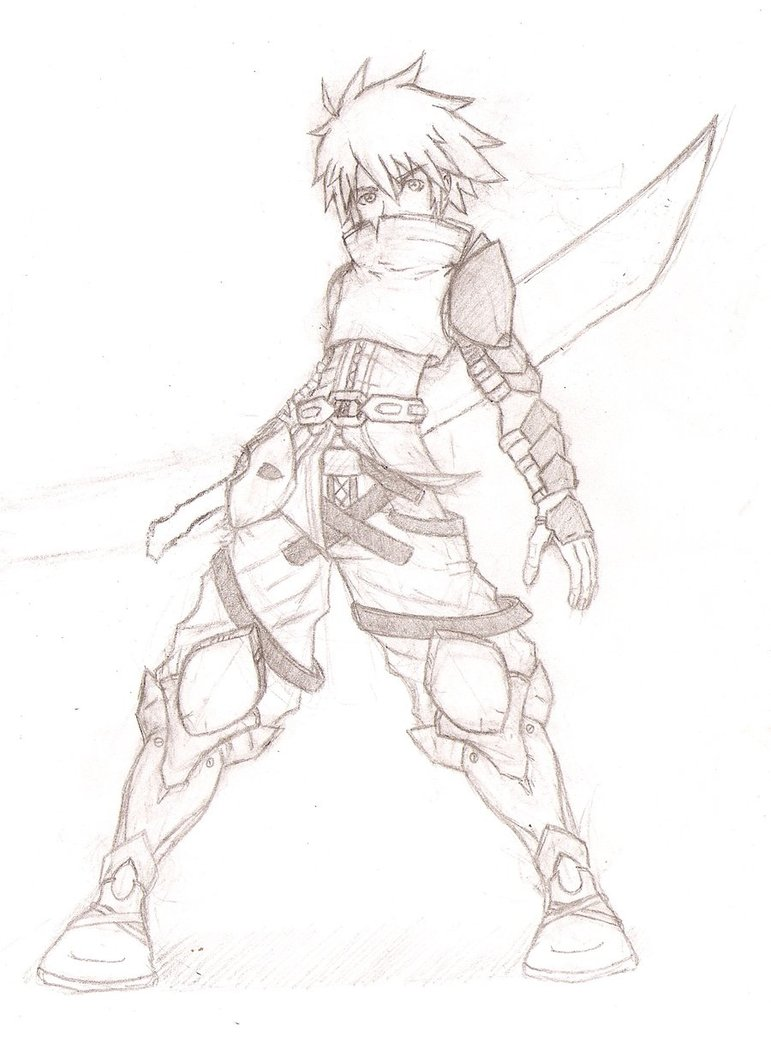771x1037 Warrior Guy By Dragon Prince Ryuun