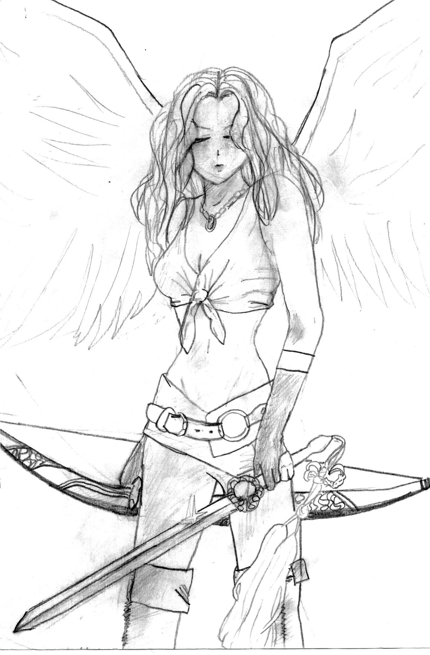 1421x2164 Warrior Girl By Xxtigereyesxx
