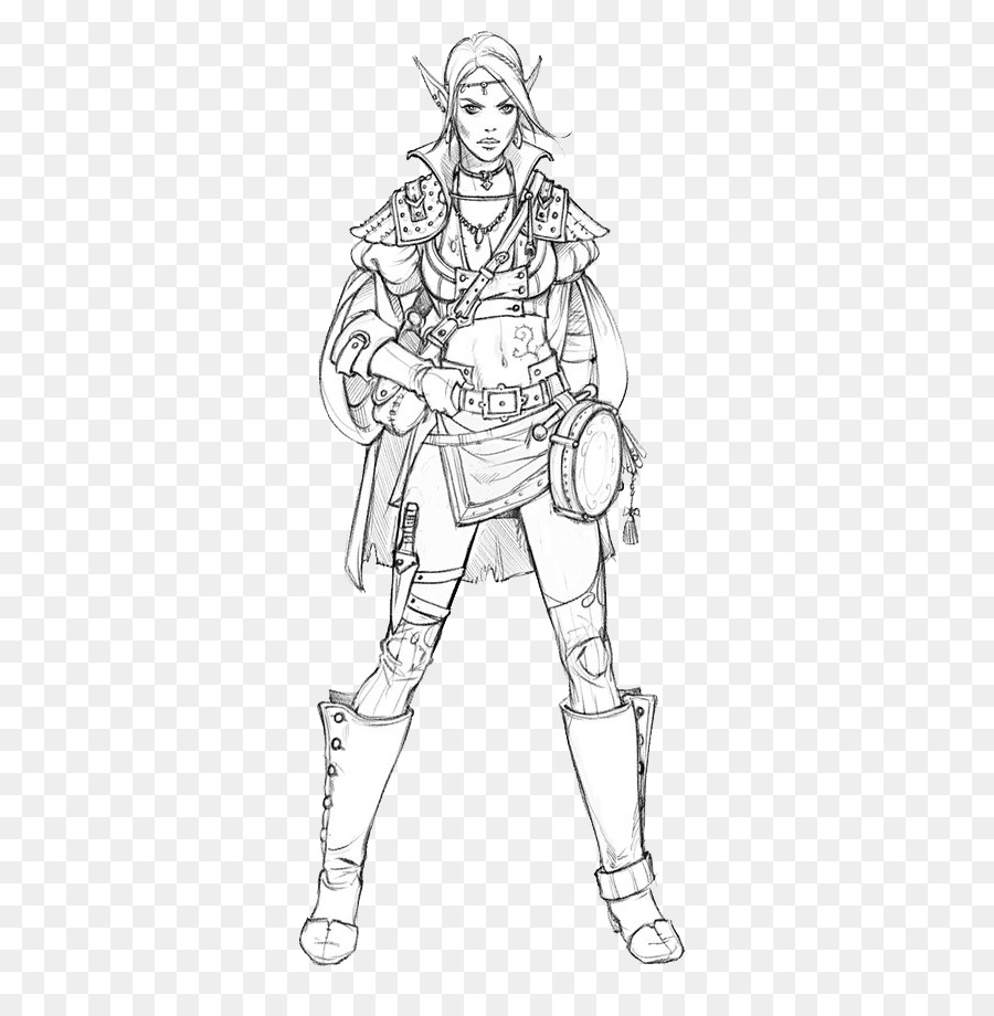900x920 Character Drawing Sketch