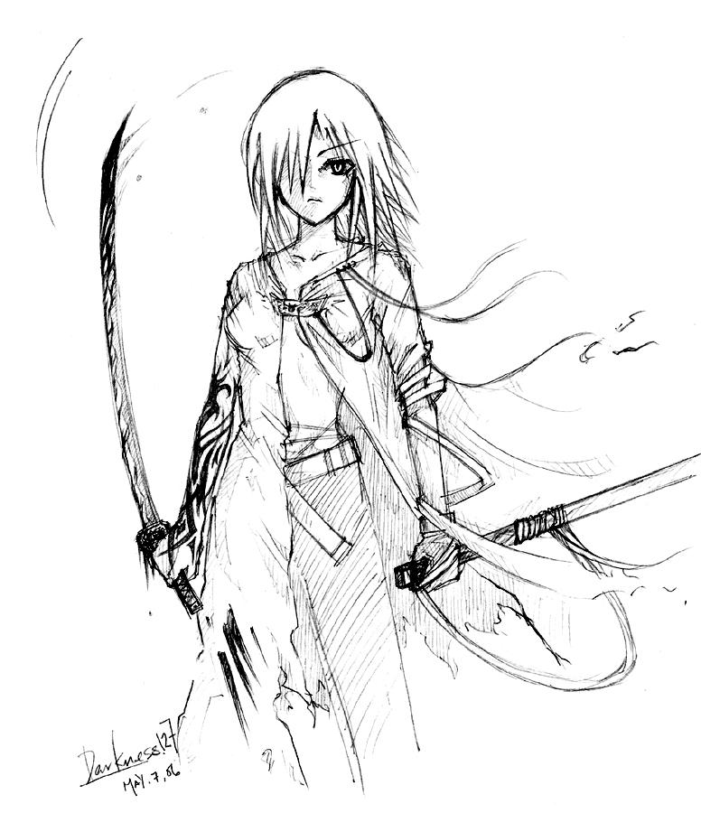 776x900 Female Warrior By Darkness127