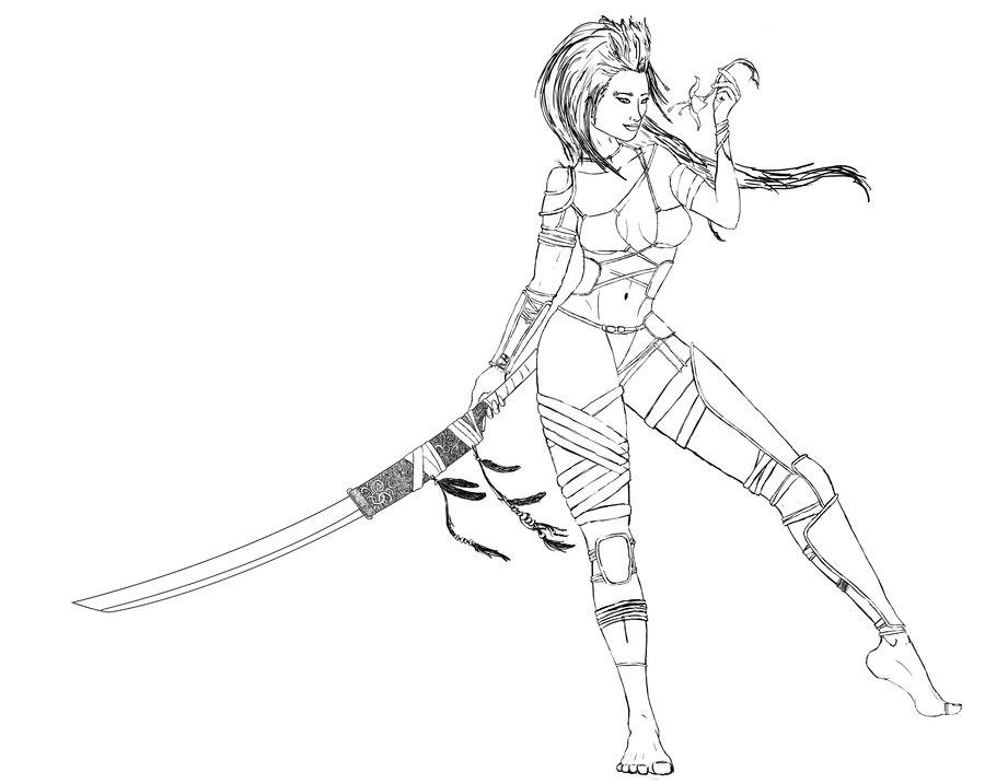 900x717 Jungle Warrior Girl By Whygetarealjob