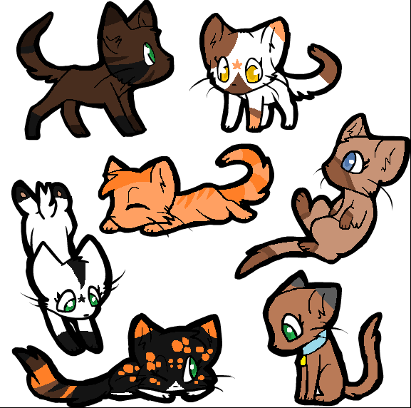 577x572 Showing Post Amp Media For Cute Chibi Warrior Cat Drawings, Chibi