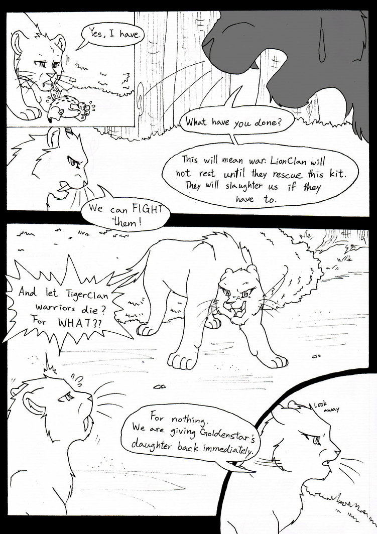 751x1064 Warrior Cats Comic P.4 By Cycat
