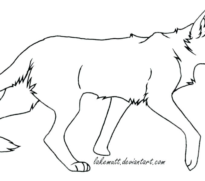 678x600 Cat Coloring Pages Free Warrior Cats