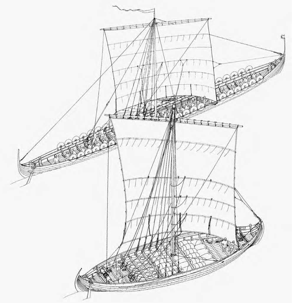 989x1027 Viking Ships Weapons And Warfare
