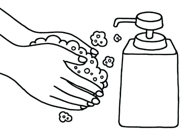 Wash Hands Drawing At GetDrawings