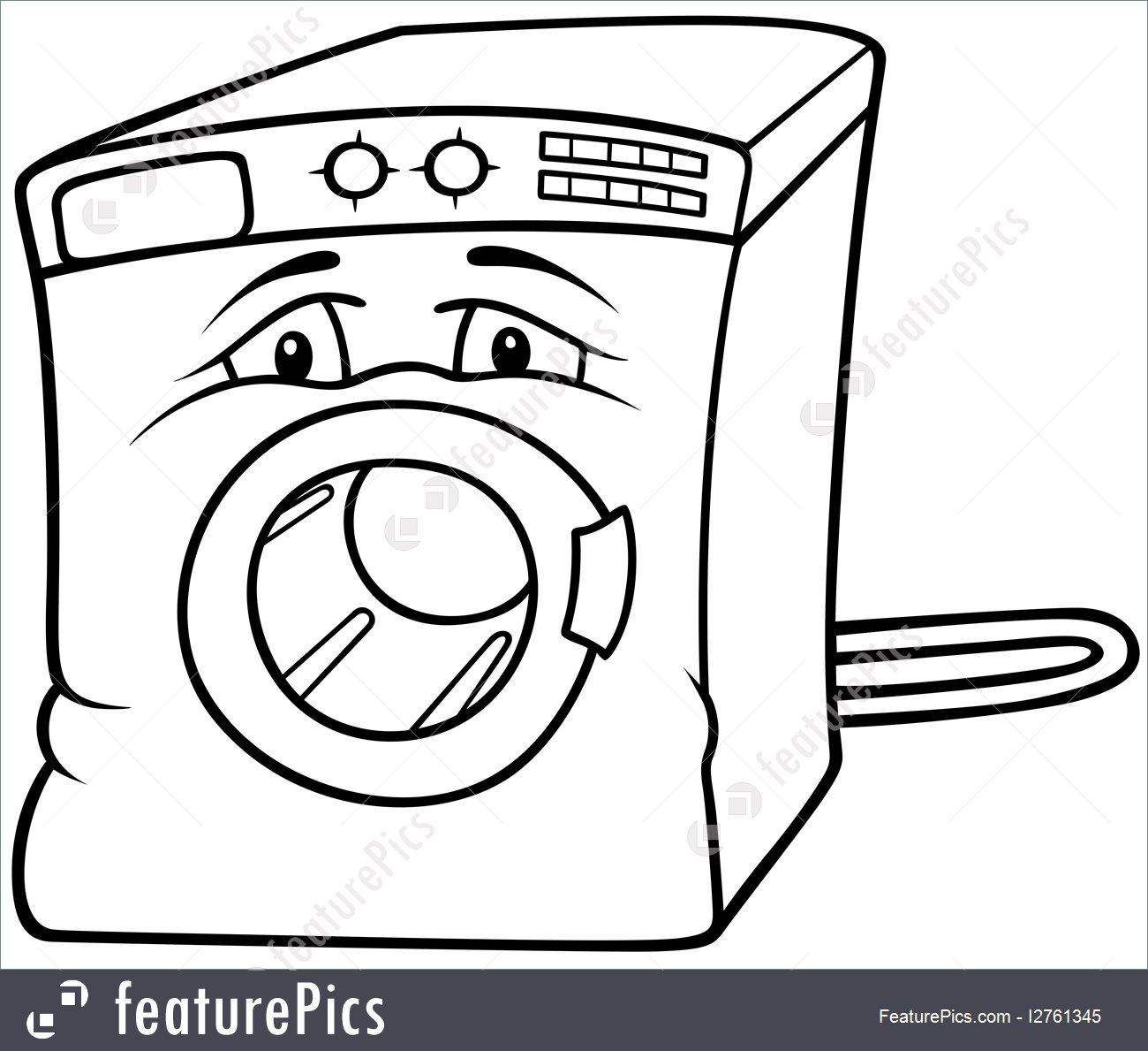 1300x1189 House Living Washing Machine