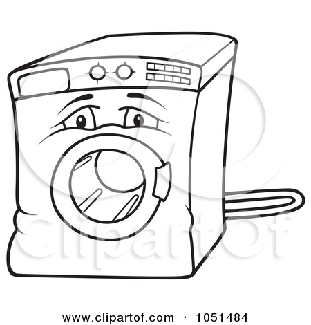 450x470 Washer Coloring Page