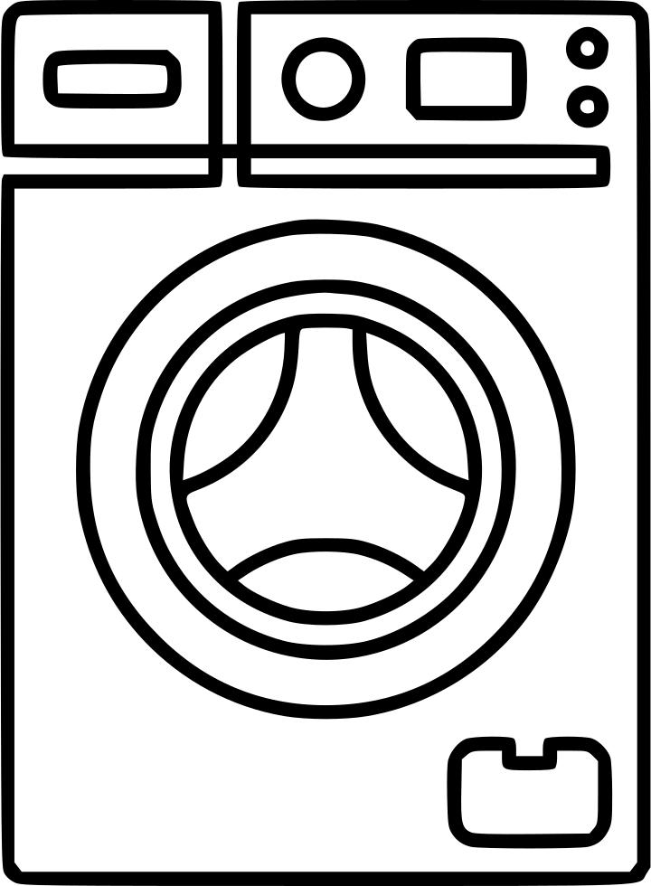 720x980 Washing Machine Svg Png Icon Free Download ( 488006
