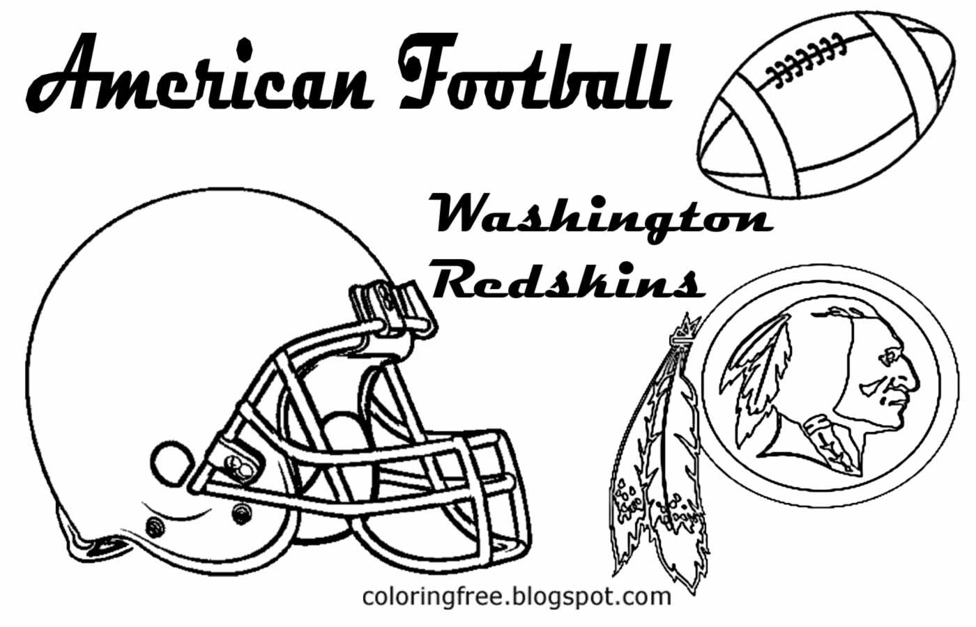 1400x900 Football Coloring Pages Washington Dc Free Dc Coloring Pages