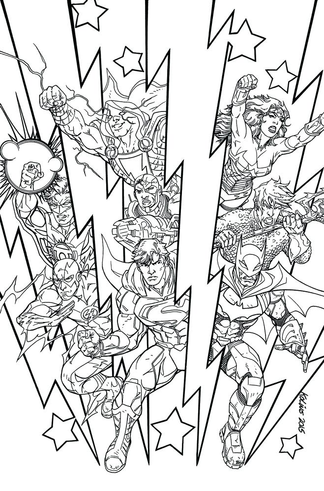 659x1000 Dc Coloring Pages Friends Coloring Pages Dc Superhero Coloring