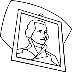 300x300 Sketch Drawing Of George Washington George Washington Day