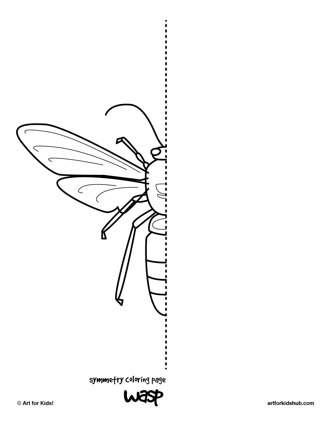 Wasp Drawing