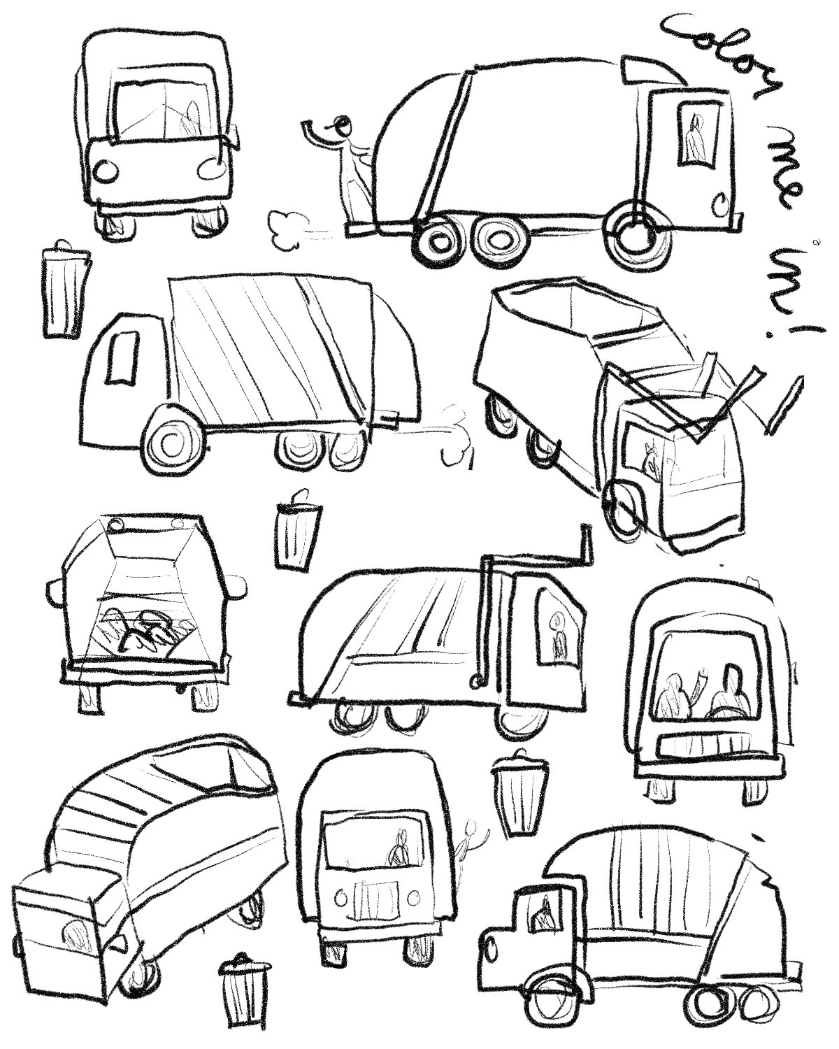 Waste Drawing at GetDrawings.com | Free for personal use ...